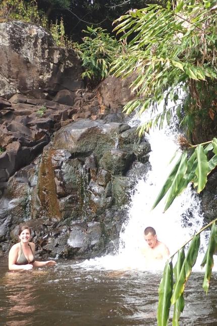 Splashing Kauai